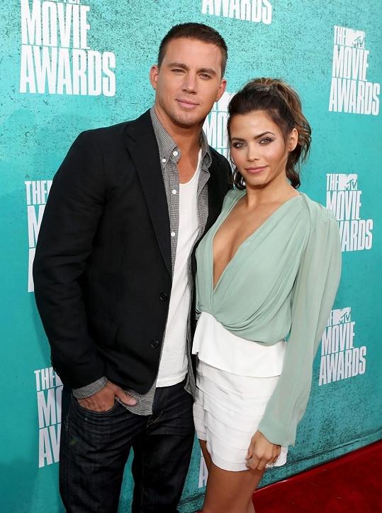 Herečka s manželem Channingem Tatumem.