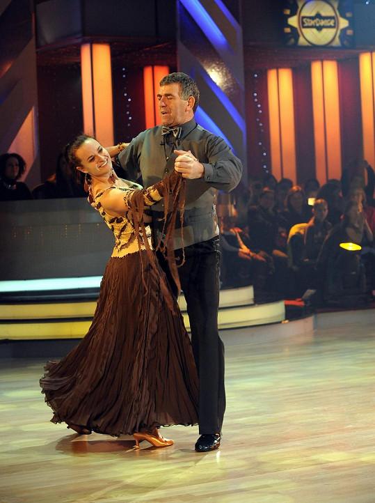 Jitka Šorfová s Bugárem pilně trénovala.