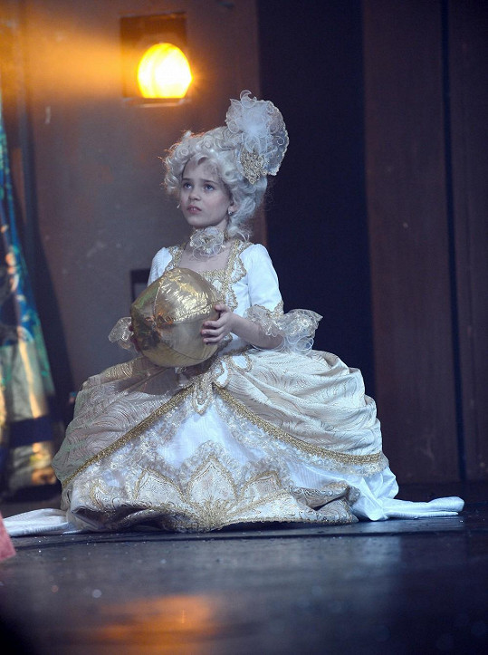 Charlottka ve své druhé muzikálové roli.