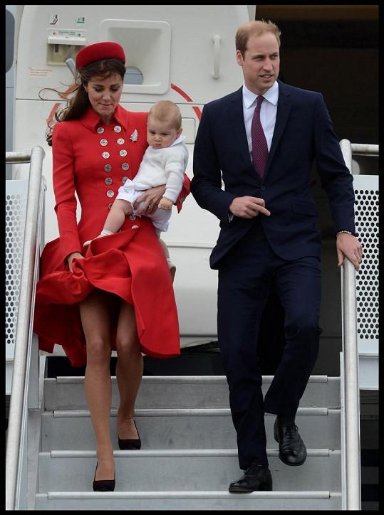 Vévoda William s Catherine na oficiální návštěvě Nového Zélandu
