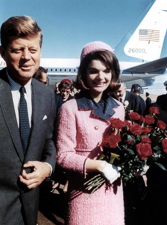 Jacqueline s manželem Johnem F. Kennedym