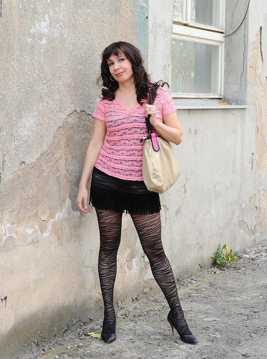 Herečka Nela Boudová má postavu jako lusk.