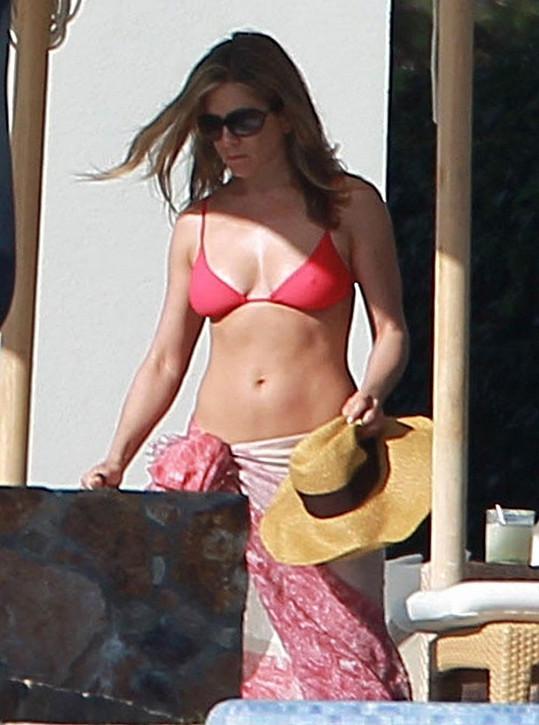 Jennifer Aniston v Mexiku.