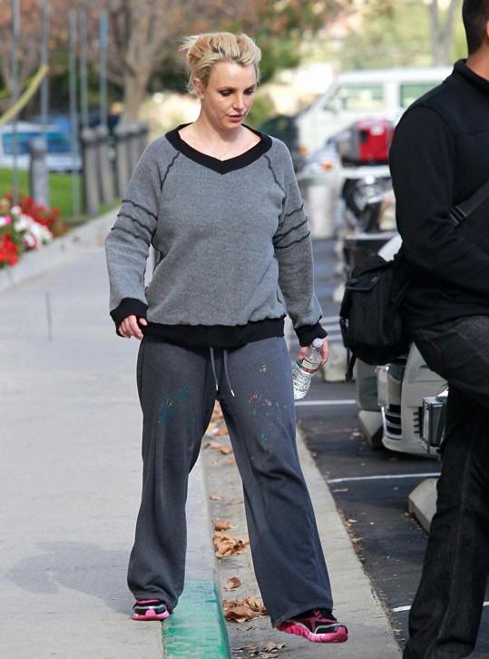 Britney jako žena z lidu
