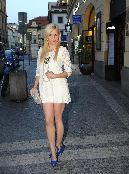 Kateřina Kristelová má nové ukázkové trojky.