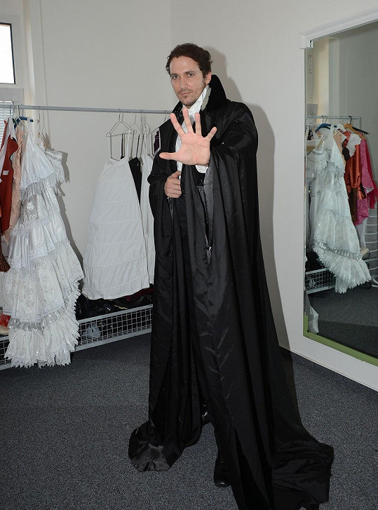 Radim v kostýmu Fantoma