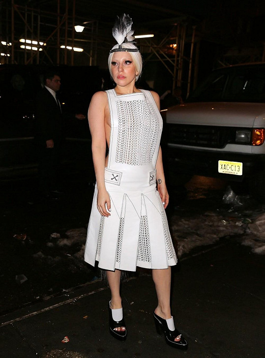 Lady Gaga chce být zajímavá.