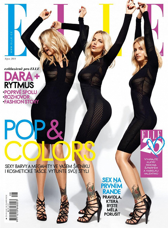 Dara hostující šéfredaktorkou módního magazínu.