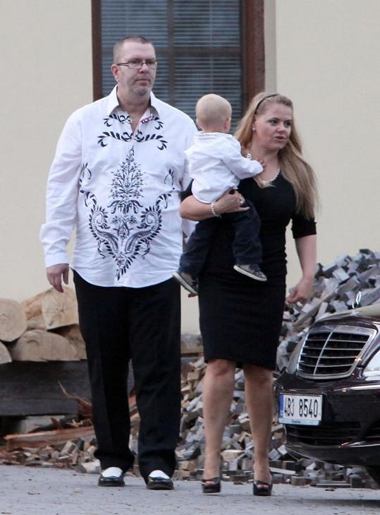 Mezi hosty byl i Richard Müller s rodinou.