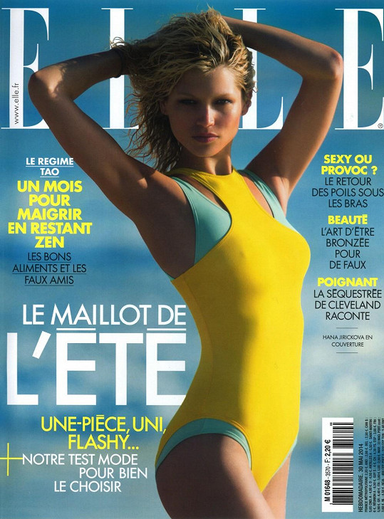 ...včetně prestižní francouzské Elle
