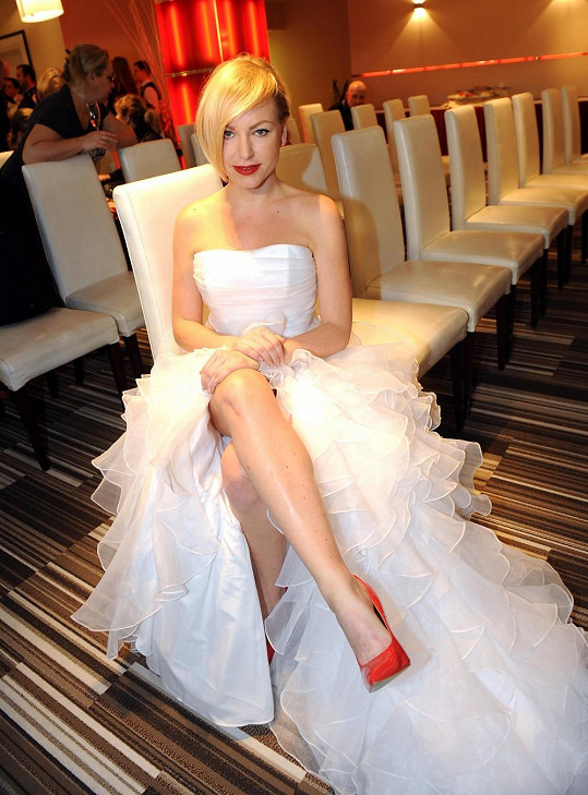 Martina Pártlová by byla krásná nevěsta, ale nemá ani přítele.