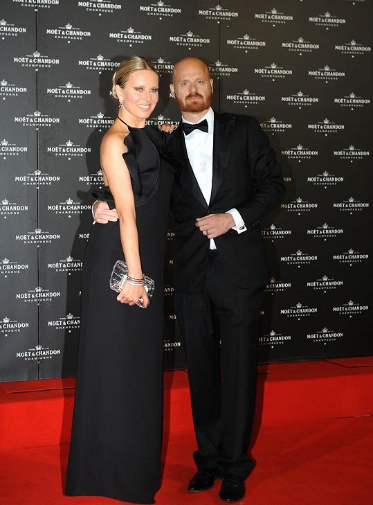 Simona s manželem Karlem Vágnerem.