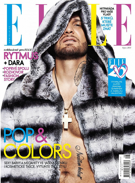 Rapper v luxusním kožichu z činčily