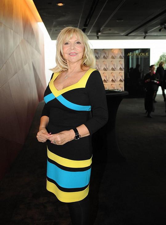 Hana Zagorová měla originální šaty z Ameriky.