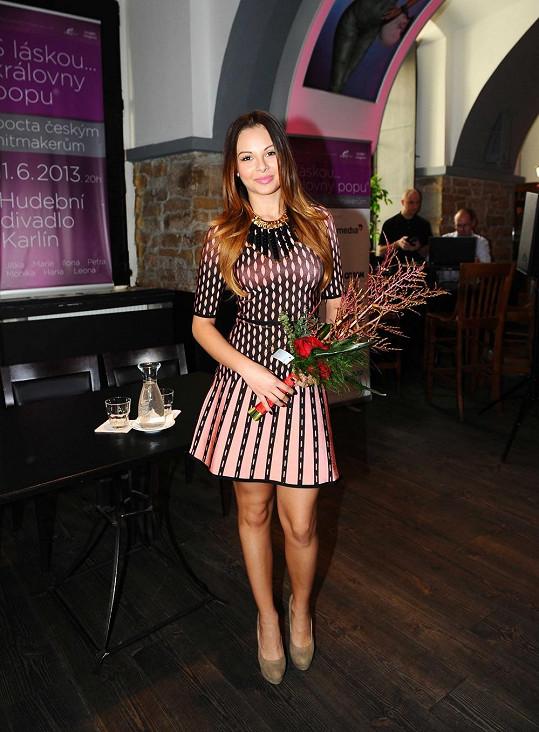 Monika Bagárová vypadá božsky.