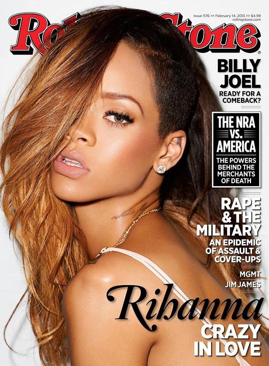 Časopis Rolling Stone s konkurentkou Rihannou na titulce