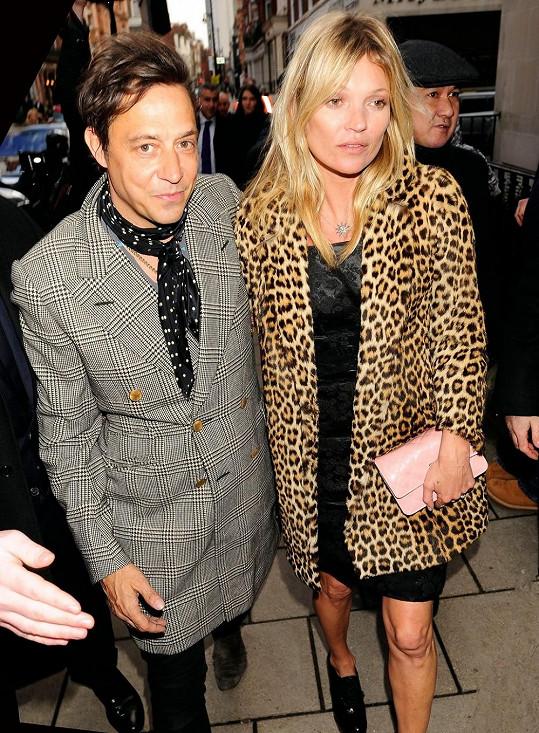 Kate Moss s manželem