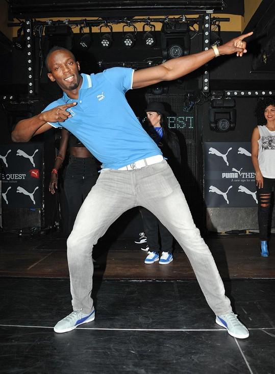 Usain Bolt to v Paříži rozjel ve velkém.