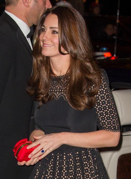 Vévodkyně z Cambridge Catherine na události SportsAid Annual Dinner