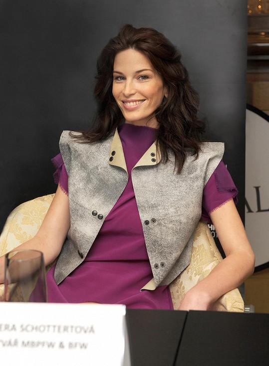 Viera Schottertová patří mezi nejúspěšnější slovenské modelky.