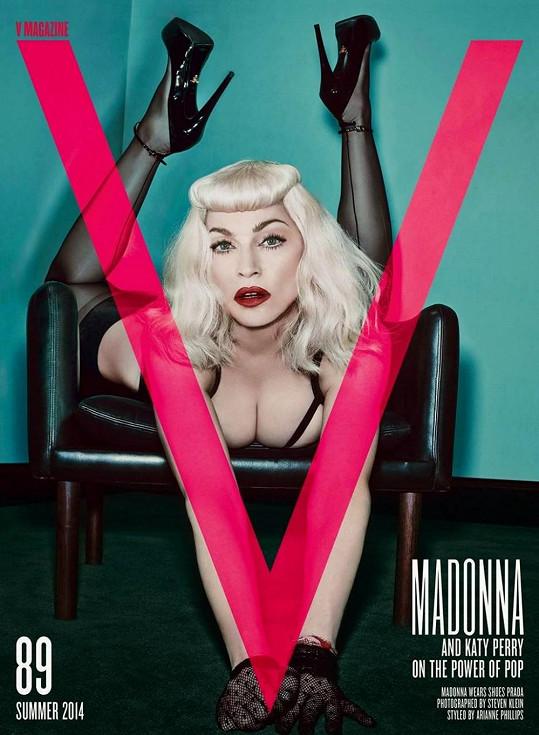 Madonna zavzpomínala na staré dobré časy.
