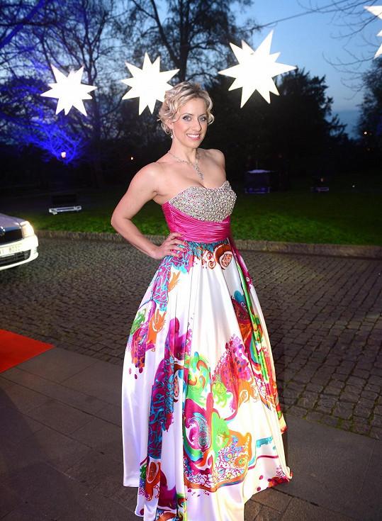 Tereza Mátlová měla šaty, které si koupila v Americe.