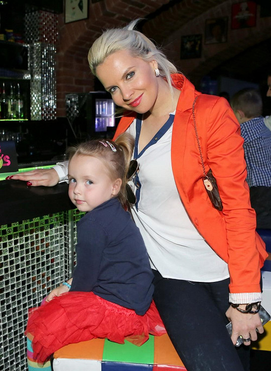 I Kateřina Kristelová s dcerou Claudií