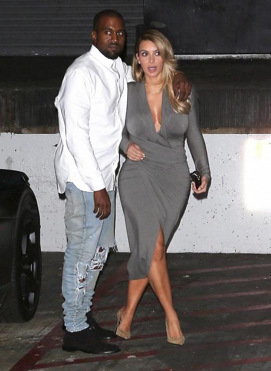 Kanye v pátek vyvedl svou milou za kulturou.