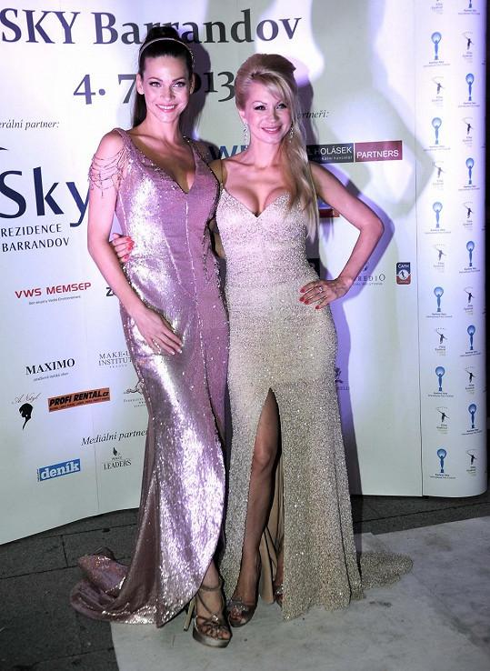 Andrea s návrhářkou Natali Ruden.