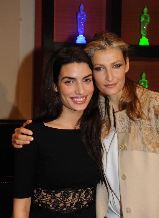 Tereza se poprvé setkala s herečkou Toniou Sotiropoulou, která je modelčinou velkou obdivovatelkou
