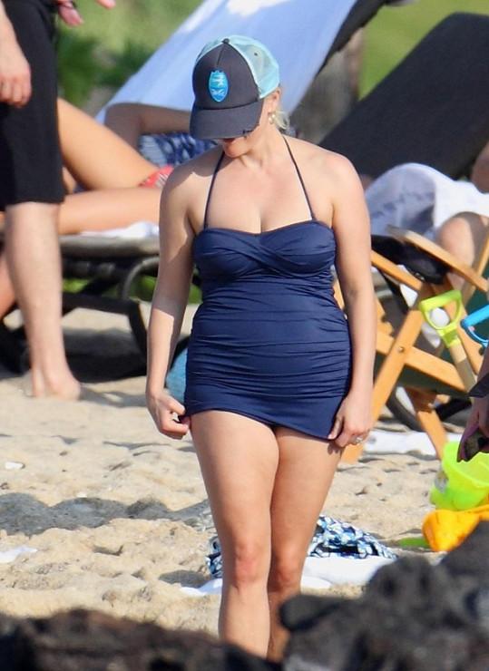 Reese Witherspoon na Havaji.