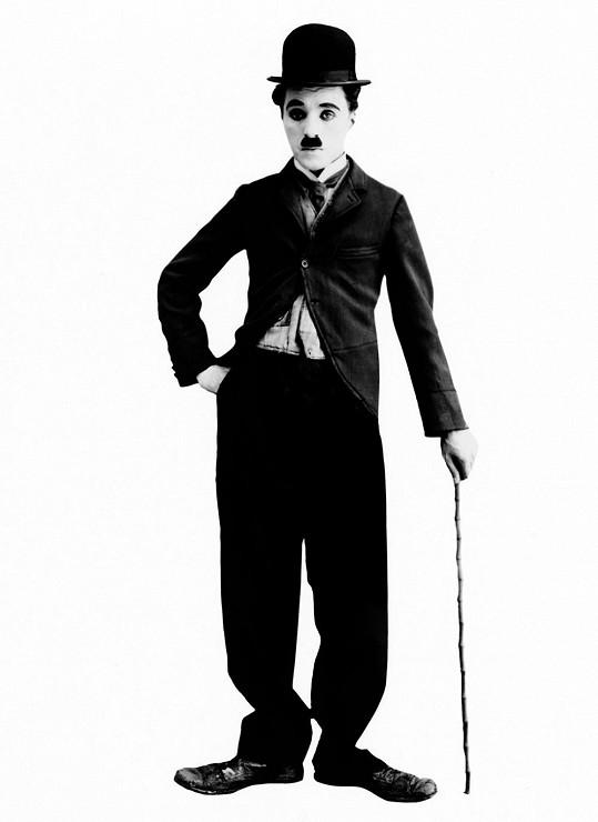 Nejslavnější podoba Charlieho Chaplina.