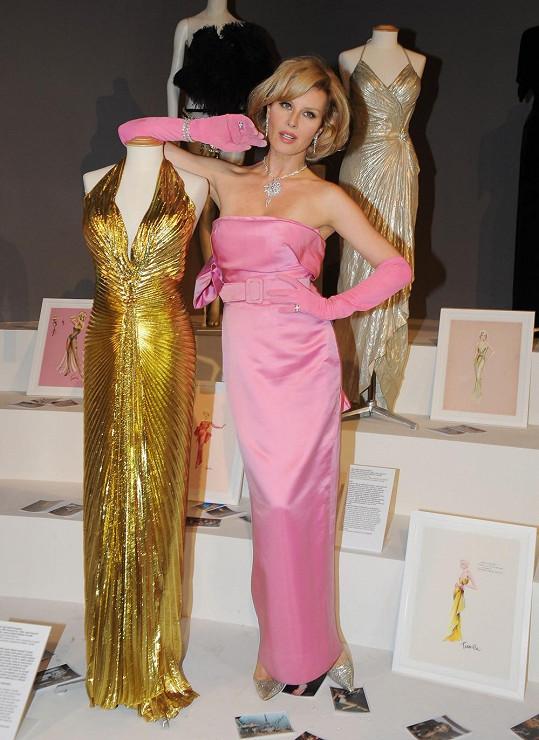 Simona umí Marilyn zdařile napodobovat.