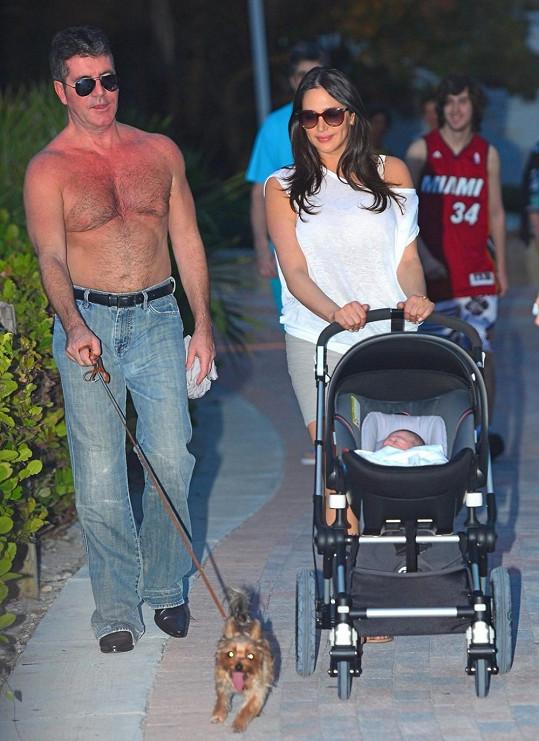 Simon Cowell je zároveň tak trochu psí táta...