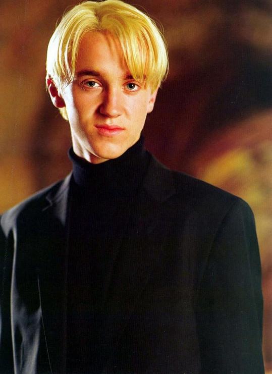 Tom Felton ve filmu Harry Potter a Ohnivý pohár (2005)