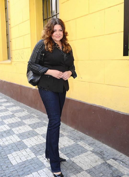 Ilona Csáková má s manželem Radkem Vonešem už dva syny.