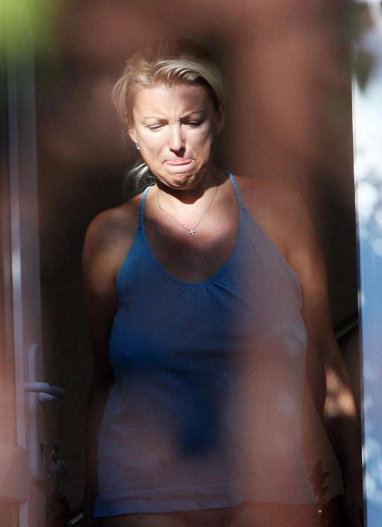 Takhle Eva Vejmělková vypadala v roce 2008.