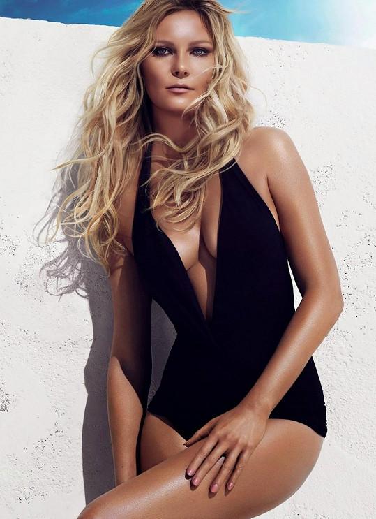 Kirsten Dunst na reklamě kosmetické značky