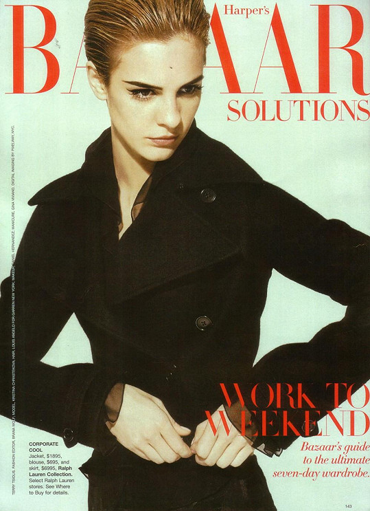 Před deseti lety byla velmi žádanou modelkou.