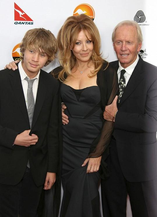 Linda s Paulem mají syna Chance.