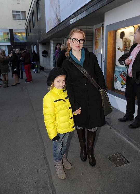 Monika Zoubková s dcerou Emmou Louisou