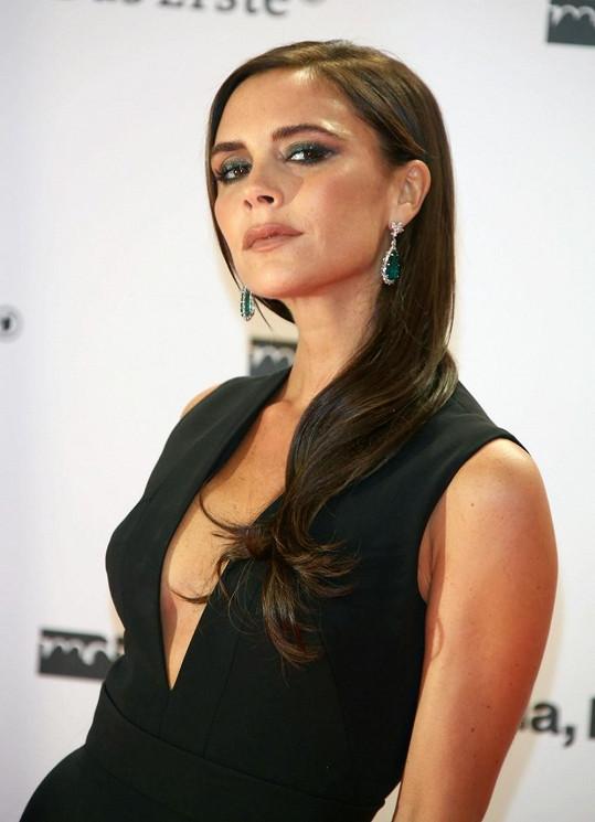 Victoria Beckham platí za ledovou královnu.