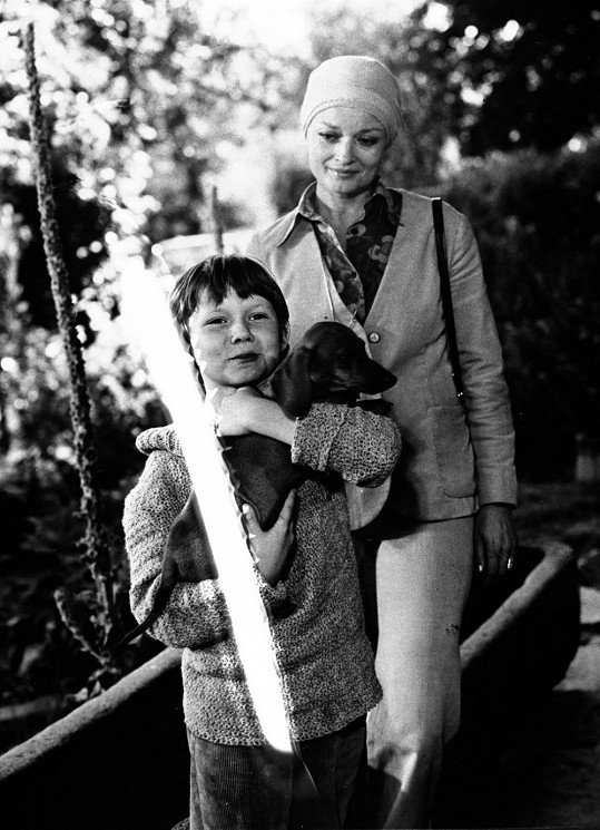 Po autonehodě zemřela také první láska Lucie Bílé - dětský herec Tomáš Holý.