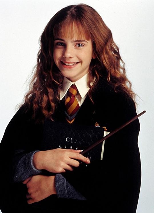 Emma se poprvé jako Hermiona objevila ve filmu Harry Potter a kámen mudrců (2001).