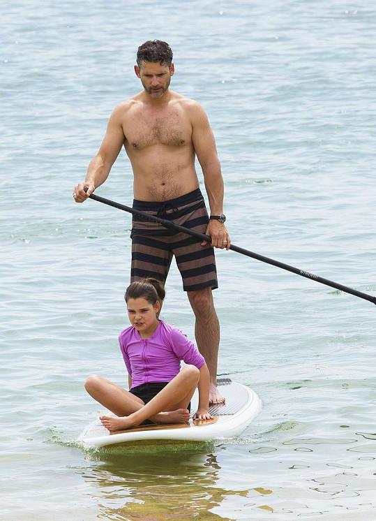 Eric Bana s dcerou Sophií