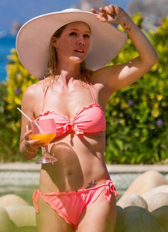 Jennie Garth v Mexiku.
