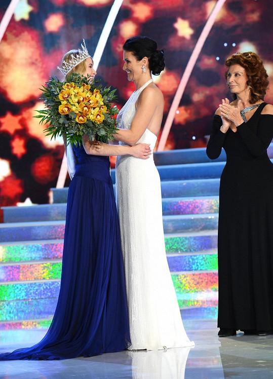 Maláčová s letošní Českou Miss