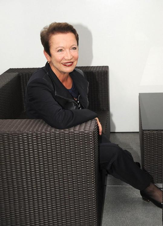Hana Maciuchová vypadá dva roky před sedmdesátkou fantasticky.
