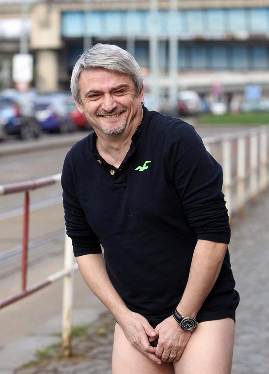 Michal Suchánek je pro každou legraci.