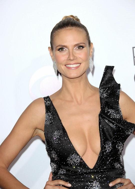 Heidi Klum loni oslavila 40. narozeniny.